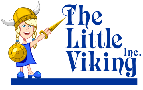The Little Viking Logo